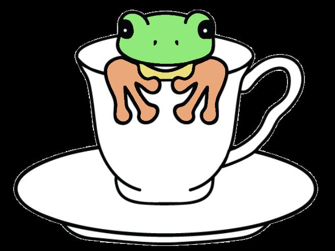Tanja Frog In A Teacup